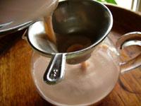 7592七子餅茶でミルクプーアールティー
