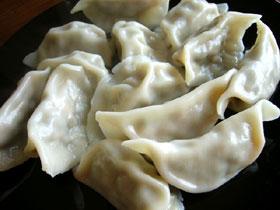 酸豆角餃子(サヤインゲンの漬物の餃子)
