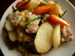 山薬炒肉片(長芋と豚肉の炒めもの)