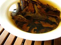 後期紅印鉄餅80年代プーアル茶