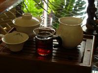 同興号後期圓茶70年代 (プーアル餅茶)