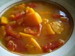 蕃茄南瓜(トマトと南瓜のスープ)