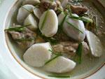 芋頭鴨湯(家鴨と里芋のスープ)
