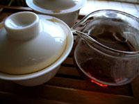 早期紅印春尖散茶(プーアル茶)