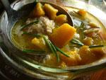 南瓜肉肉圓湯(南瓜と肉団子のスープ)
