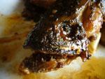 麻辣黒魚塊(雷魚のピリ辛炒め)