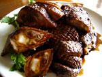 醤鴨(家鴨の照り焼きの冷菜)