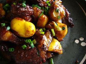 栗子紅焼肉(豚と栗の紅焼ソース)