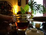 プーアル熟茶の磚茶