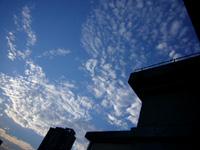 連休中の上海の空