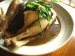 黄耆紅棗老鶏湯(おうぎとナツメの鶏肉スープ)