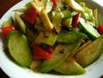 蠣油炒芥菜(からし菜と牡蠣油炒め)