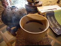 月と六ペンスと鳳凰沱茶93年プーアル茶