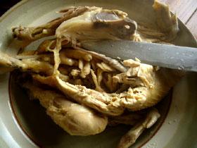 沙鍋人参鶏(鶏と白人参の土鍋煮)