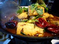 干鍋臭豆腐