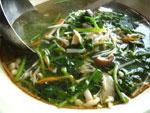 西洋菜金針湯(クレソンと金針湯のスープ)