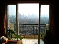 やっと晴れた上海