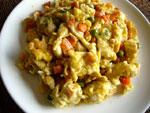 玉米炒鶏蛋(コーンと卵の炒めもの)