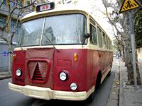 上海の古いバス