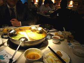 上海のカレー火鍋の店