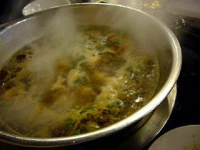 香辣蟹の火鍋