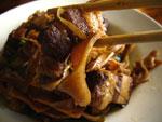 筍と豚肉の紅焼ソース