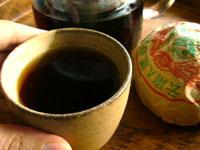 鳳凰沱茶94年プーアル茶