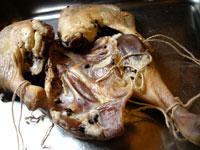 咸鴨腿(塩漬け干し鴨の腿肉)