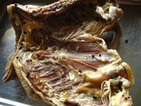 咸鶏(塩漬け干し鶏)