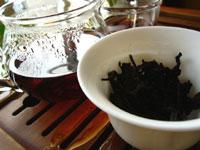 早期紅印春尖散茶プーアル茶