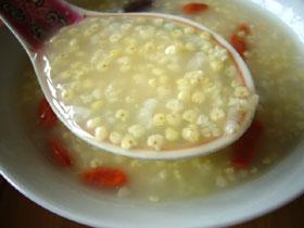小米粥(アワのお粥)