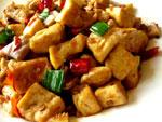 回鍋臭豆腐(臭豆腐のホイコーロー)