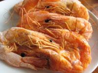 咸蝦(塩漬け干し蝦)