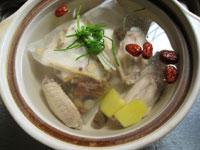 山薬の十全大補湯・薬膳スープ