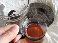 一級圓茶1999年プーアル茶