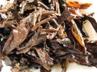 後期紅印鉄餅プーアル茶