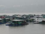 香港の漁村