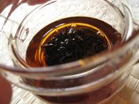 当店が最初に販売したプーアル茶
