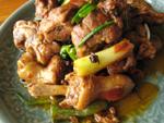 蒜泥炒莧菜(ヒユナのニンニク炒め)
