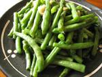 蒜泥刀豆(ナタ豆の大蒜炒め)