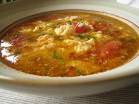 蕃茄蛋湯(トマトと卵のスープ)