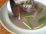 大骨頭蓮藕湯(レンコンと豚骨のスープ)