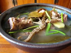 海馬骨頭湯(タツノオトシゴの豚骨スープ)