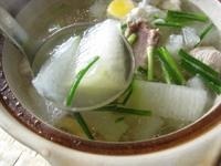 冬瓜と排骨のスープ