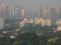 上海の汚い空気