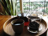 熟茶のプーアル茶