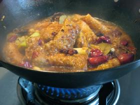 豆腐衣包の麻辣火鍋