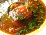 蟹汁蕃茄猪肝湯