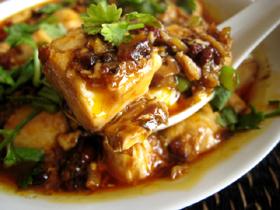 蟹肉麻婆豆腐