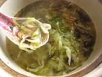 巻心菜蝦皮湯
